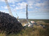 Fklowry Blacklough Windfarm Piling Rotary